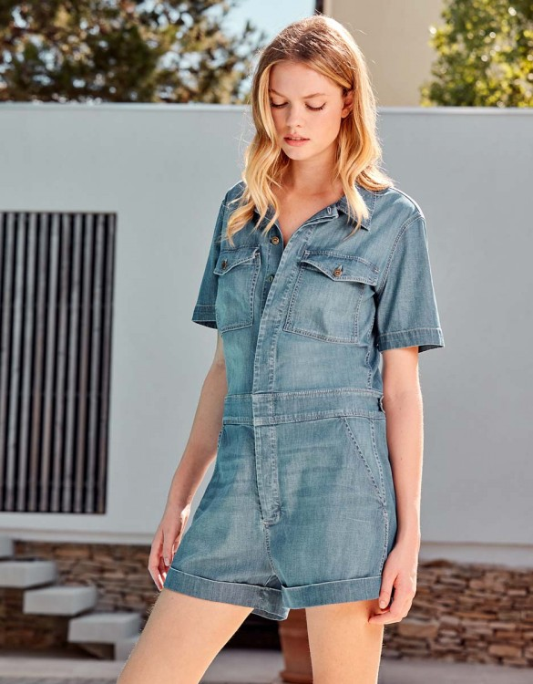 Denim jumpsuit Chester Denim - MEDIUM BLUE
