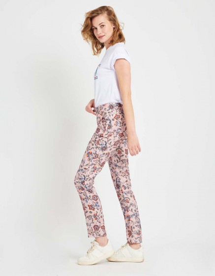 Street trousers Edwin Printed - POUDRE FLOW