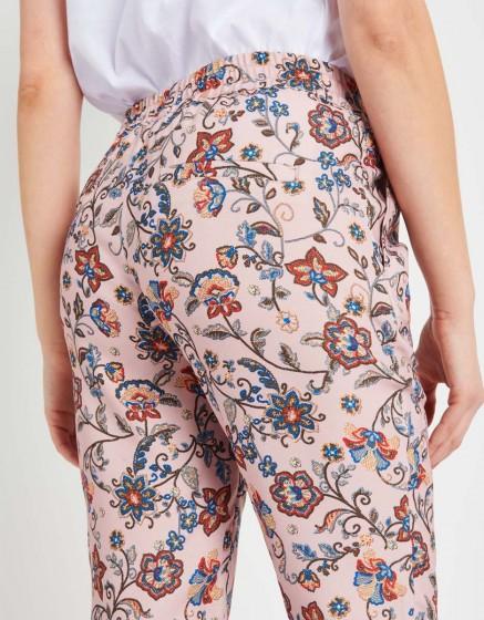 Pantalon Street Edwin Printed - POUDRE FLOW