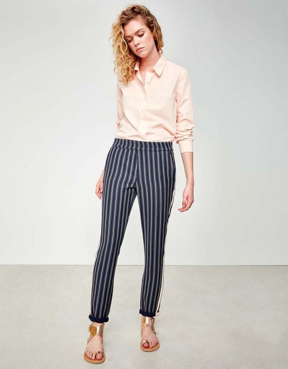 Street trousers Elvin Fancy - NAVY SLATE