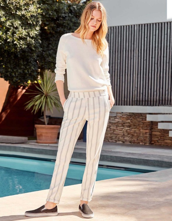 Street trousers Elvin Fancy - WHISPER WHITE