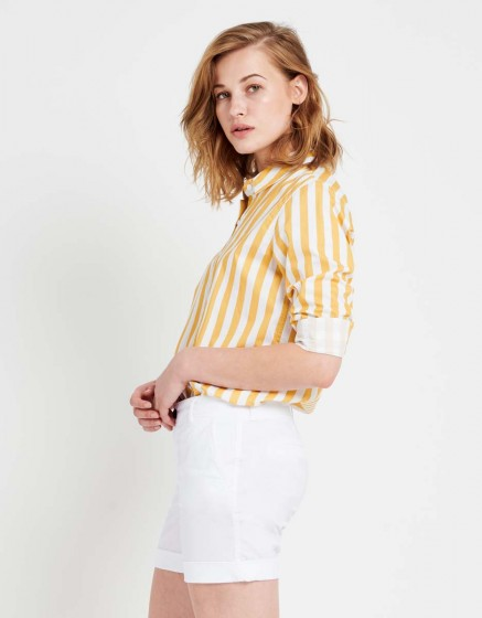 Short Stacy Color - WHITE