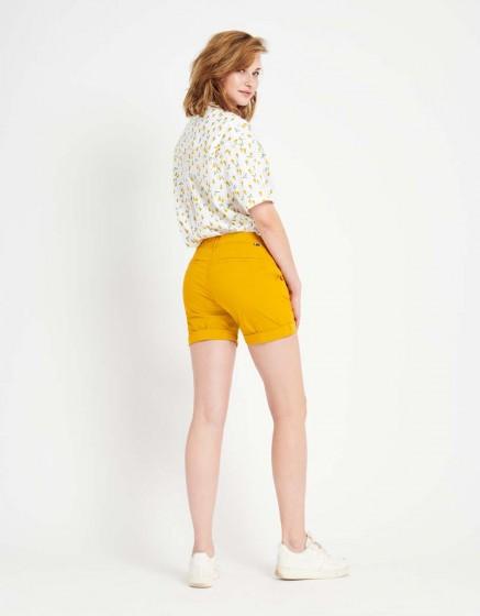 Short Stacy Color - SUNFLOWER