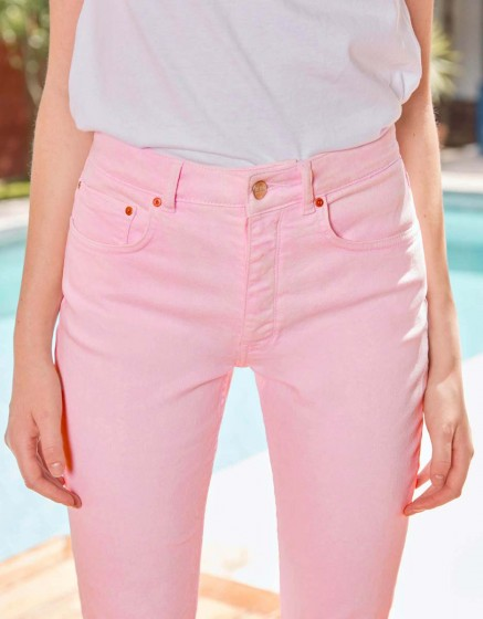 Jean Mom Harlem Vintage - ROSE