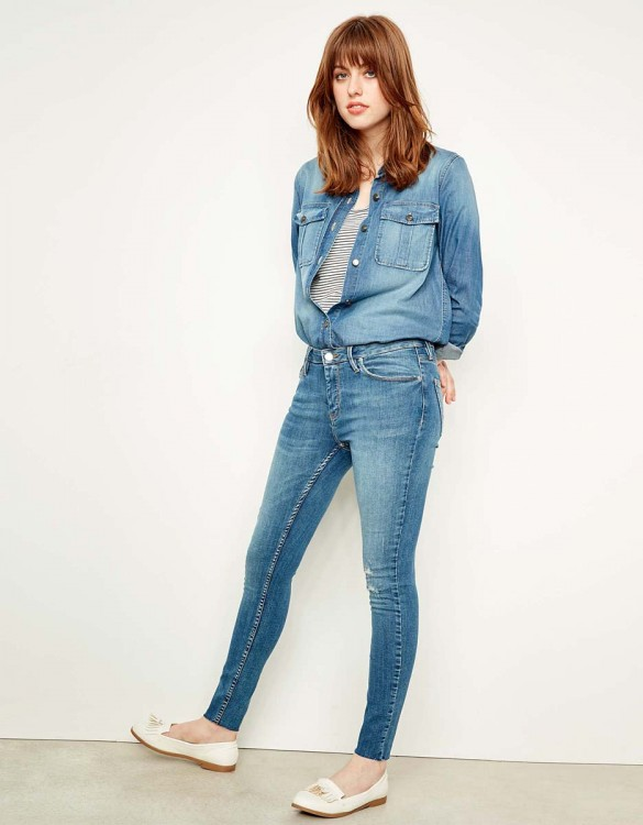 Jean skinny cropped Lily - DNM M-85