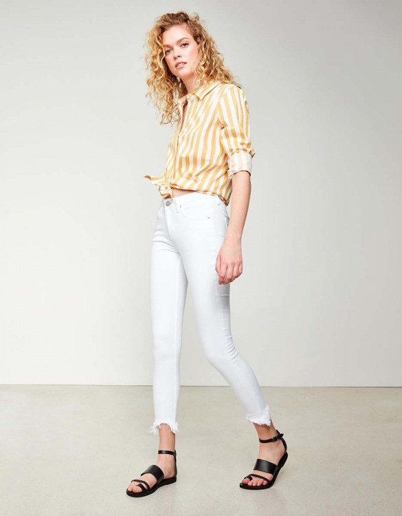 Skinny cropped jean Lily - DNM WHITE