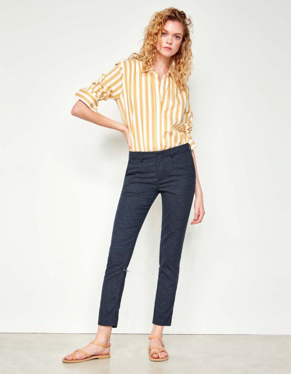 Pantalon cigarette Lizzy Fancy - POLKA DOTS