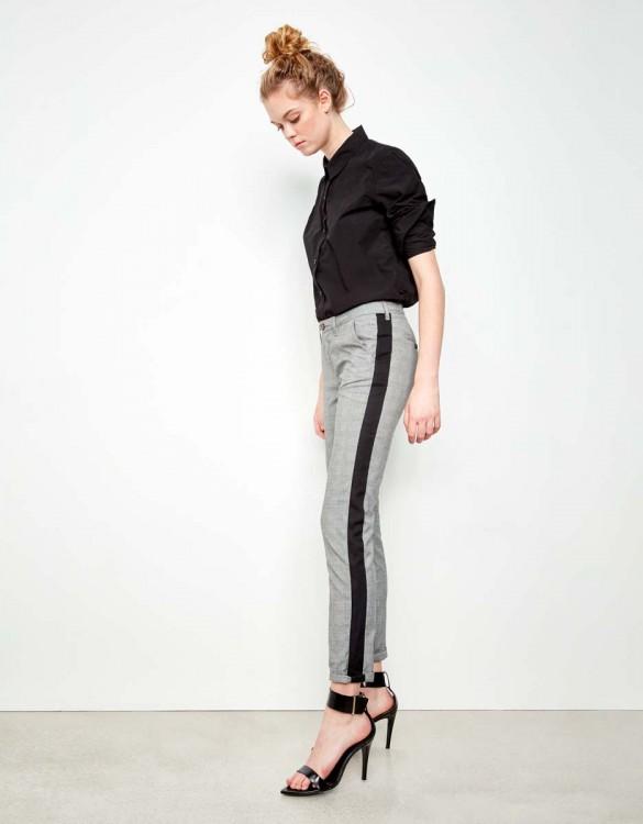 Chino Trousers Sandy Fancy - HERRING TARTAN