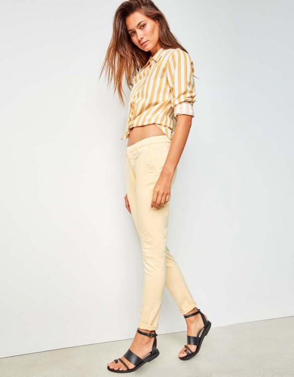 Pantalon chino Sandy - VANILLE
