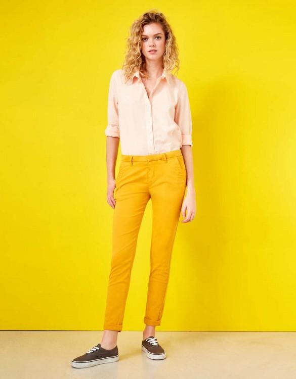 Pantalon chino Sandy - SUNFLOWER