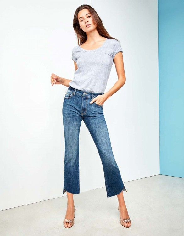 Straight cropped jean Lottie - DNM M-80