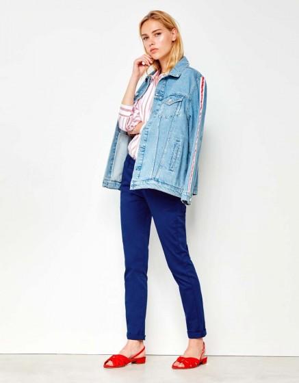 Chino Trousers Sandy - NAUTICAL BLUE
