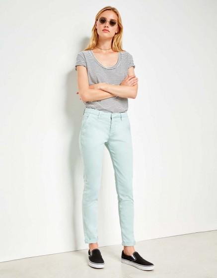 Chino Trousers Sandy - GLACIER