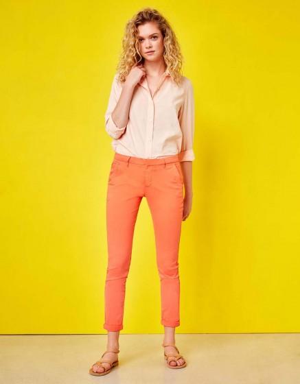 Pantalon chino Sandy - FLAMINGO