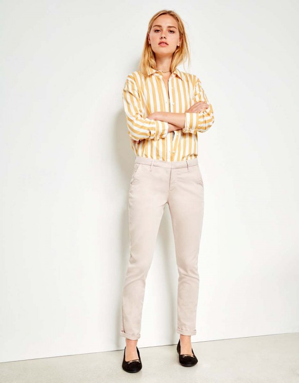 Pantalon chino Sandy - ALMOND