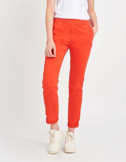 Street trousers Elton - WATERMELON