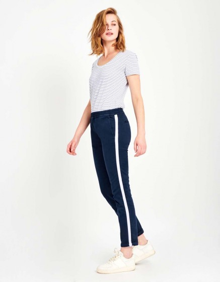 Street trousers Elton - DARK NAVY