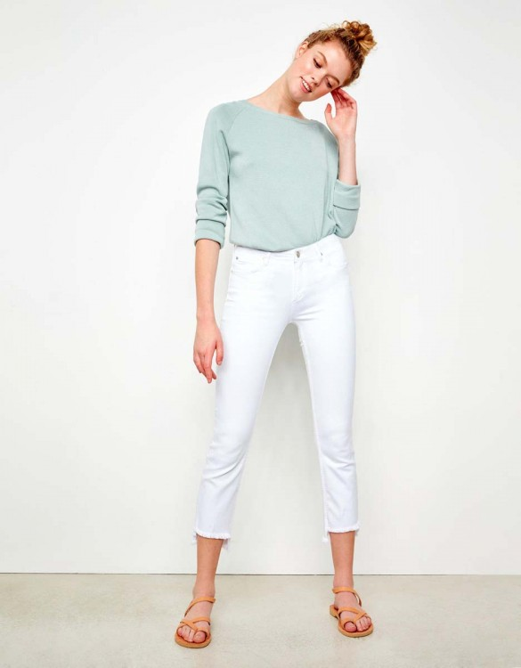 Straight cropped jean Prue - DNM WHITE