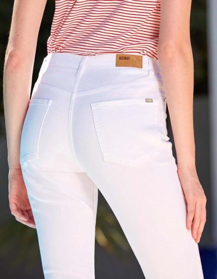 Jean boxy cropped Paulin - DNM WHITE