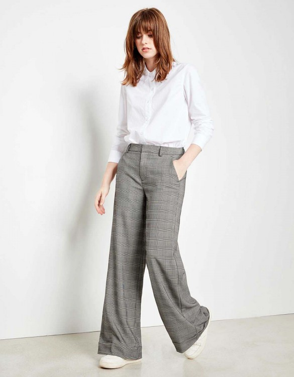 Pantalon wide Pamelo Fancy - TARTAN