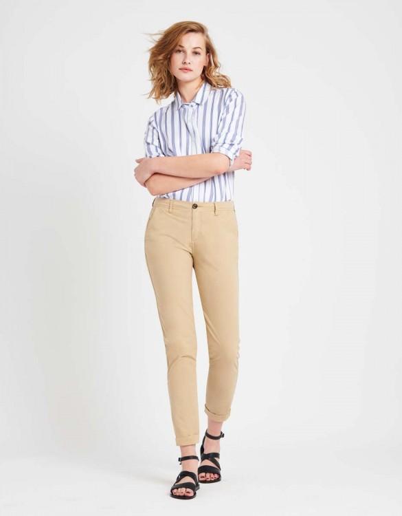 Pantalon chino léger Pam - BEIGE