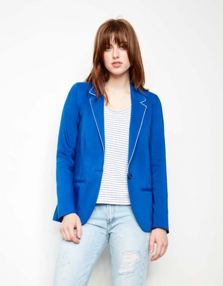 Veste blazer Blair Color - NAUTICAL BLUE
