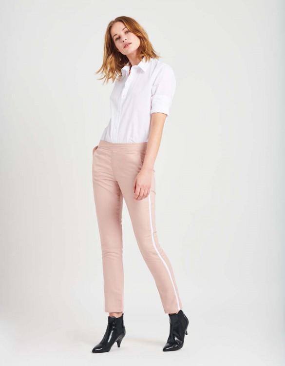 Street trousers Elvin Fancy - OLD ROSE