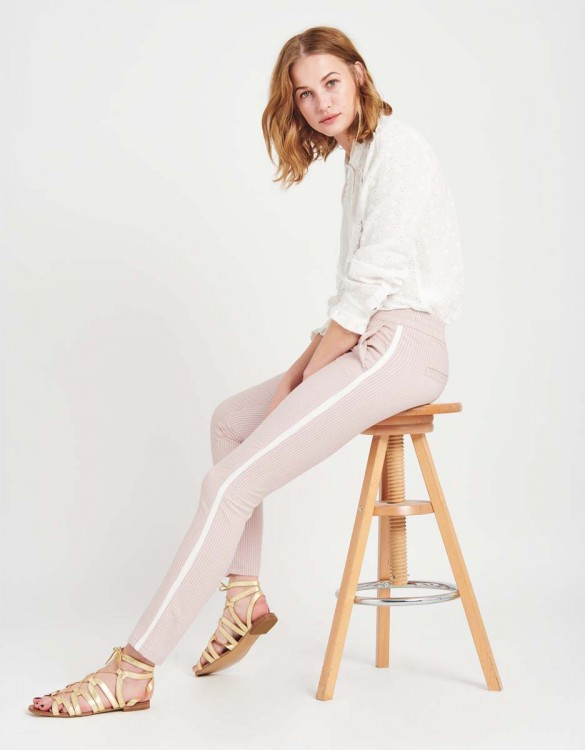 Pantalon street Elvin Fancy - PINK STRIPES