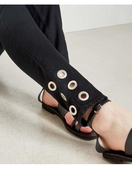 Skinny jean Noris Ring - DNM BLACK