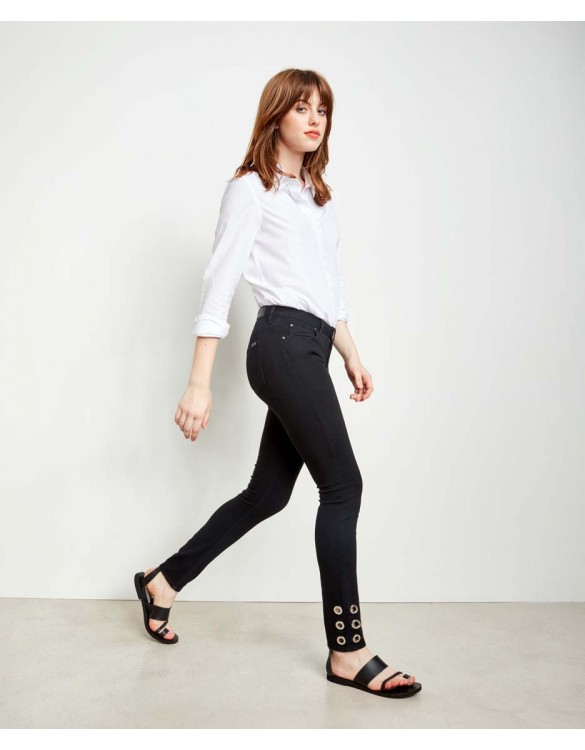 Skinny jean Noris Ring - DNM BLACK