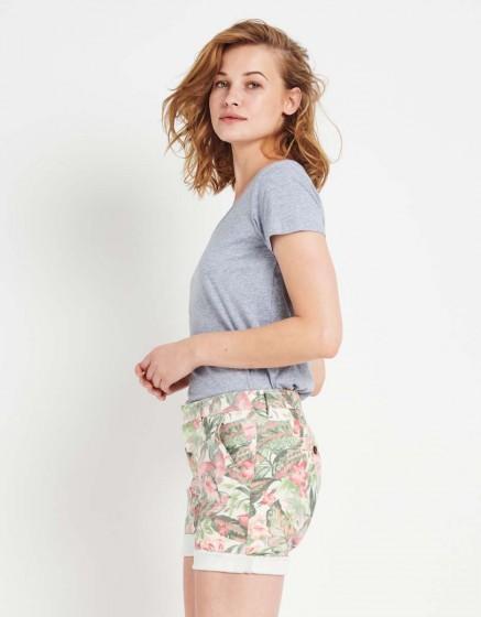 Short Selena Printed - BAY FLOWER