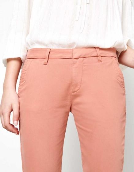 Chino Trousers Sandy - ARGILE ROSE