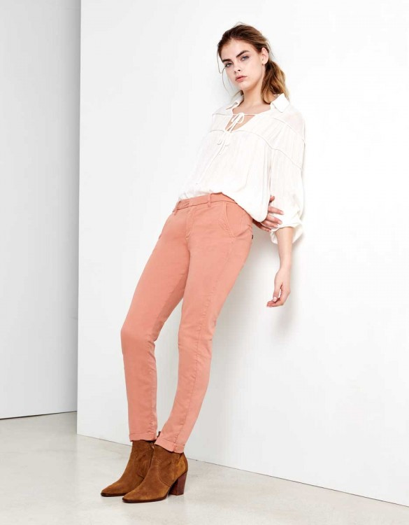 Chino Trousers Sandy - ARGILE ROSE
