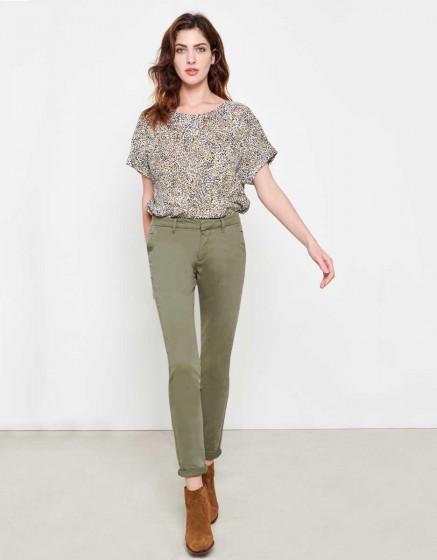 Pantalon chino Sandy - SAUGE