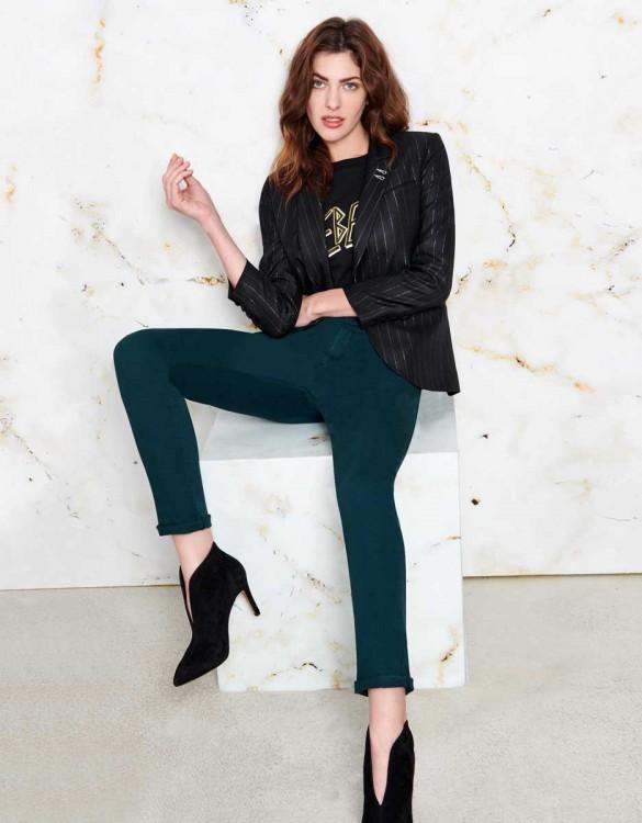 Pantalon chino Sandy - VERT IMPERIALE