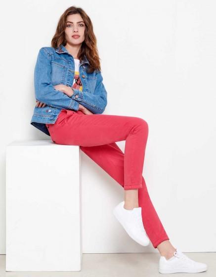 Pantalon chino Sandy - CAMELIA