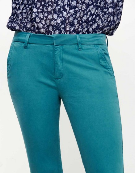 Chino Trousers Sandy - MENTHOL