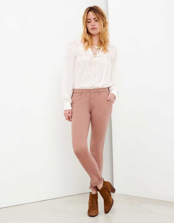 Pantalon chino Sandy - PRALINE