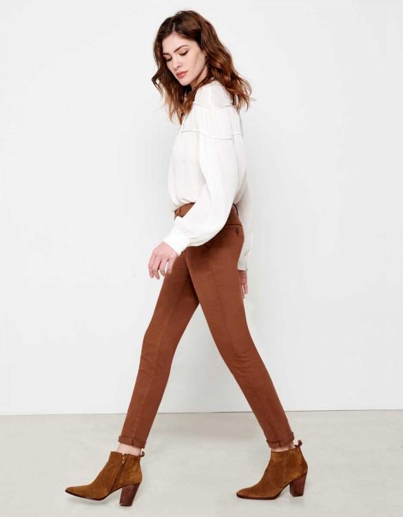 Pantalon chino Sandy - TABAC