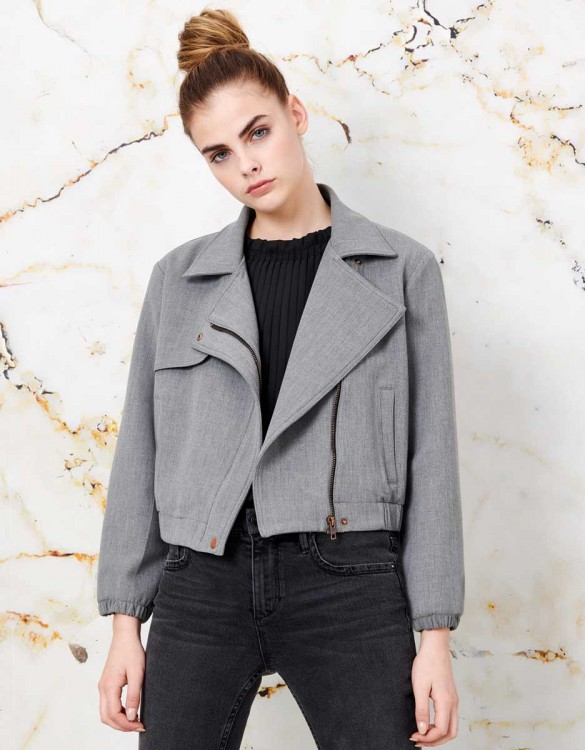 Jacket Prune - GRIS CHINE