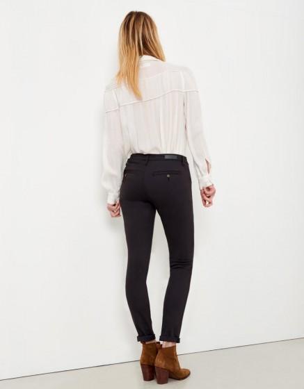 Pantalon chino Sandy - CARBONE