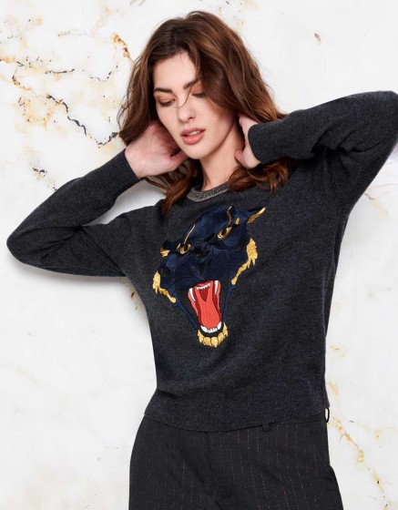 Pull Paloma - CARBONE