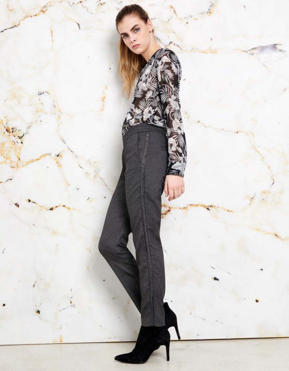 Street trousers Elvin Fancy - GREY STONE