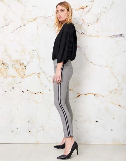 Street trousers Elvin Fancy - MOON MIST