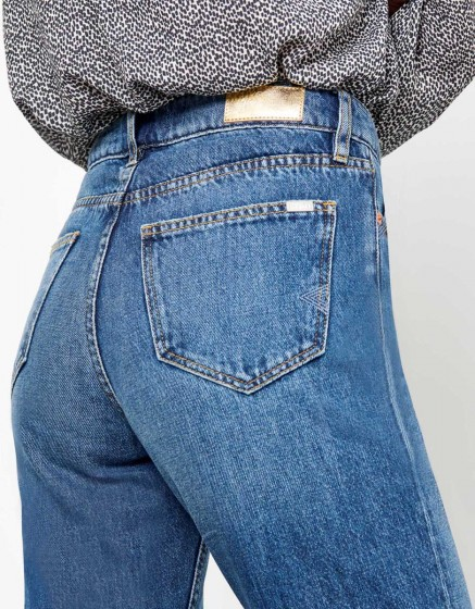 Jean Highwaist cropped Milo - DNM V-200