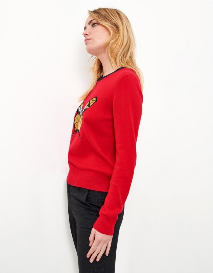 Pull Paloma - TERRE ROUGE
