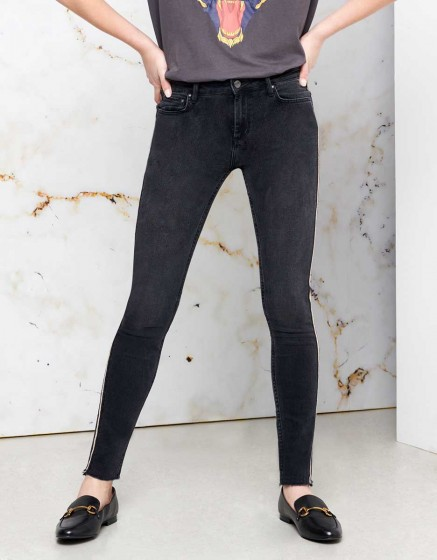 Skinny cropped Jean Lily Herring - DNM BL-17