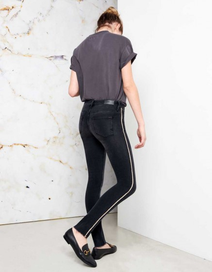 Jean skinny cropped Lily Herring - DNM BL-17