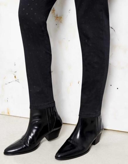 Chino Sandy Skinny Printed - DOTS BLACK