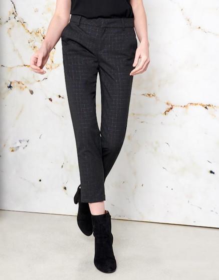 Cigarette Trousers Lizzy Fancy - COPPER SQUARES